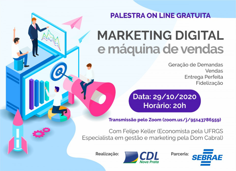 Marketing Digital e Máquina de Vendas