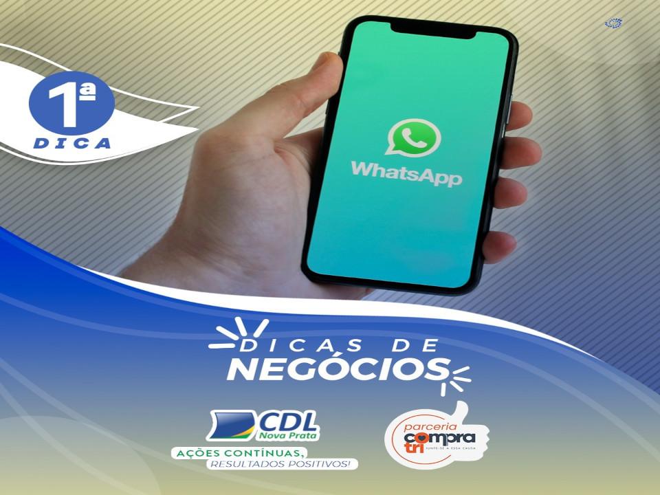 Dicas de Negócio - Dica WhatsApp